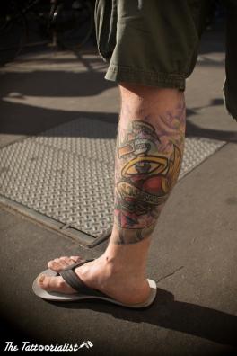 © The Tattoorialist : photo prise lors de notre shooting en juin 2013