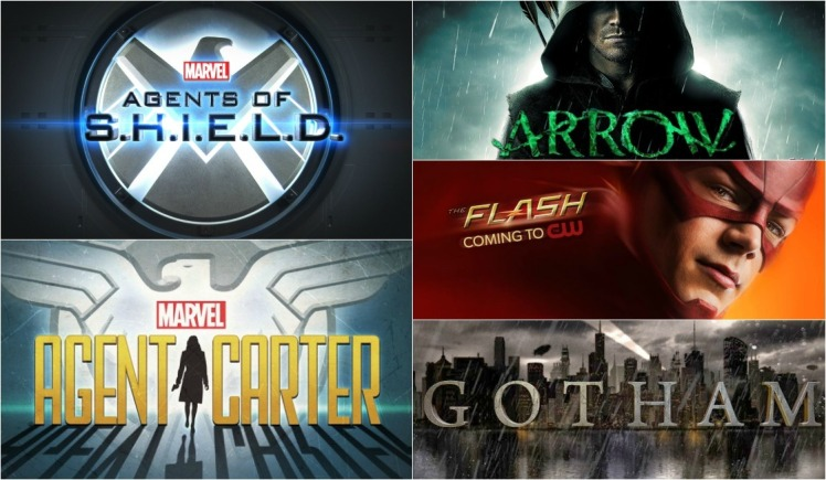 Shield Arrow Agent Carter Flash Gotham