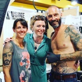 avec Léa Nahon et Paco Fisherman